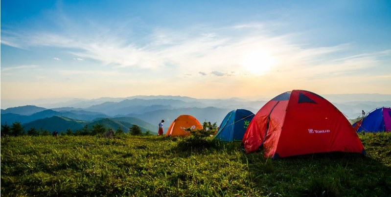 camping near Bangalore for corporate team outing